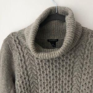 Club Monaco cropped turtle neck sweater